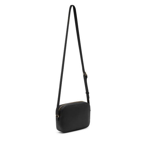 ZOE Crossbody Top Zip Black