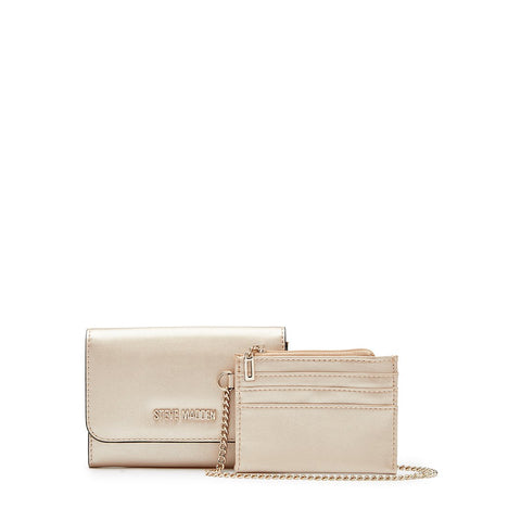 MALIA Mini Clutch Champagne