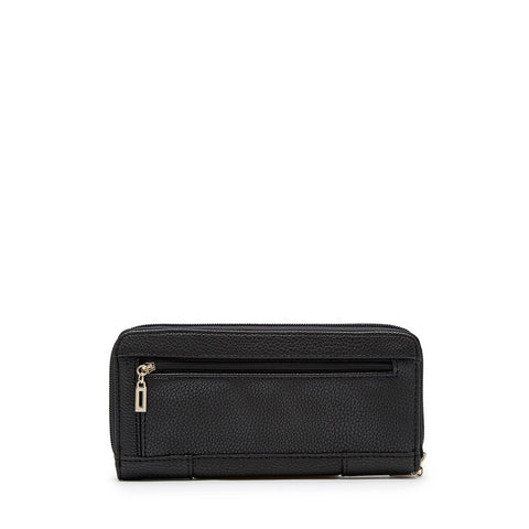 MALIA Zip Around Wallet Black