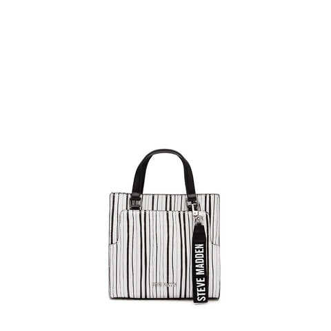 CHLOE Mini Box Tote Stripe