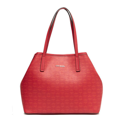 CROWN Medium Tote Red