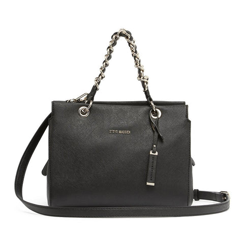 VALENTINA Satchel Black