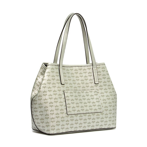 CROWN Medium Tote Silver