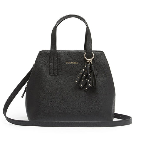 STEVIE Satchel Black