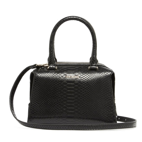 LIZ Satchel Black Snake