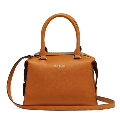 LIZ Satchel Brown