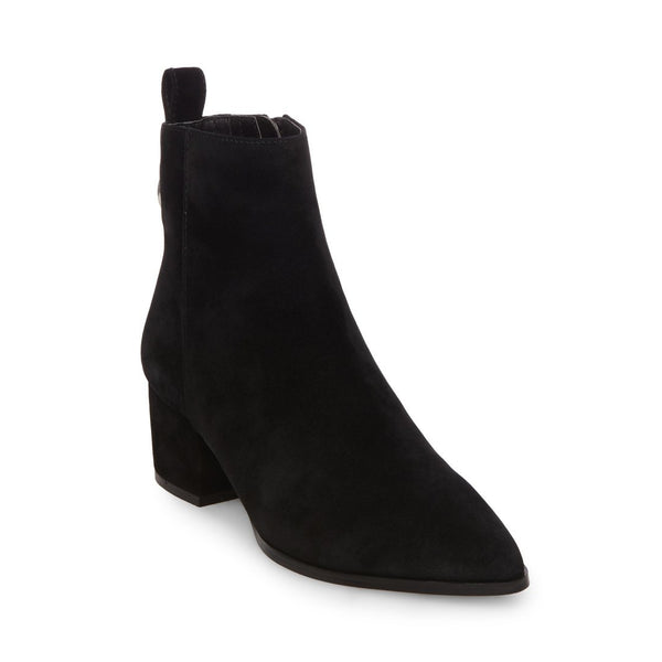 3668c081e09 CLOVER BLACK SUEDE ANKLE BOOTS