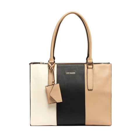 STEVIE PANEL Tote Nude