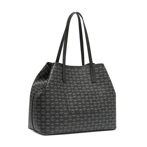 CROWN Medium Tote Black