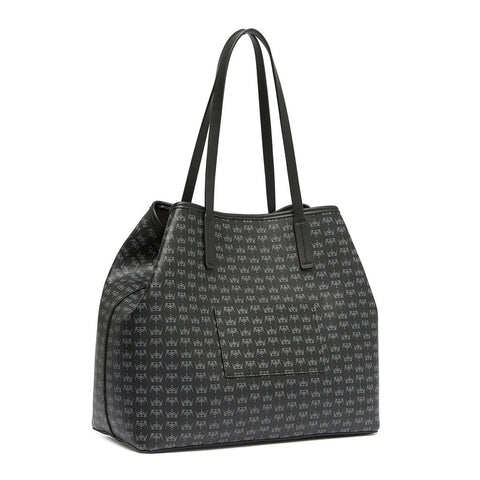 CROWN Large Tote Black