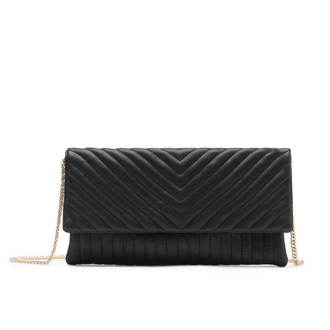 BDAWN BLACK CLUTCH