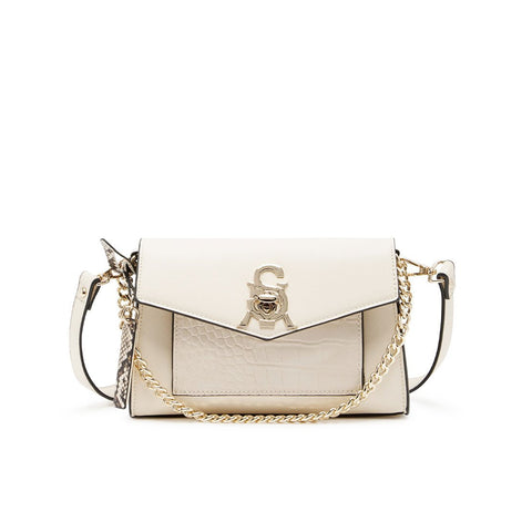 BKIMM WHITE MULTI CROSSBODY