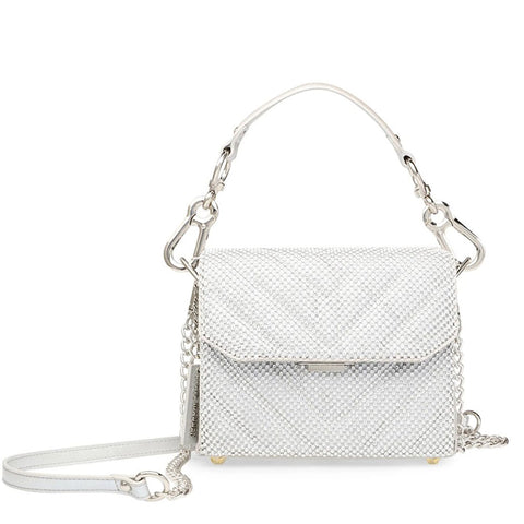 BPLAYED SILVER CROSSBODY