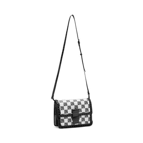 BSHAE WHITE/BLACK CROSSBODY