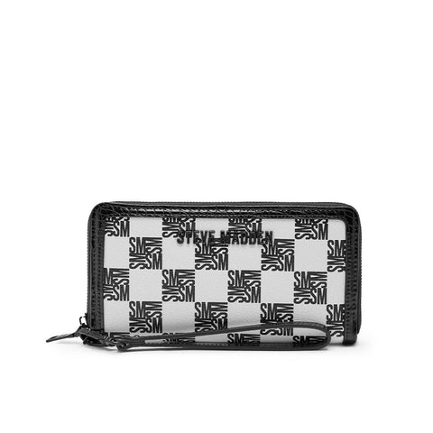 BVICKY BLACK/WHITE CLUTCH