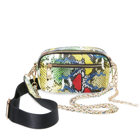 BMOOD YELLOW SNAKE CROSSBODY