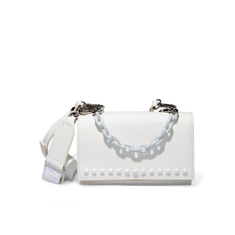 BFLYN WHITE CROSSBODY