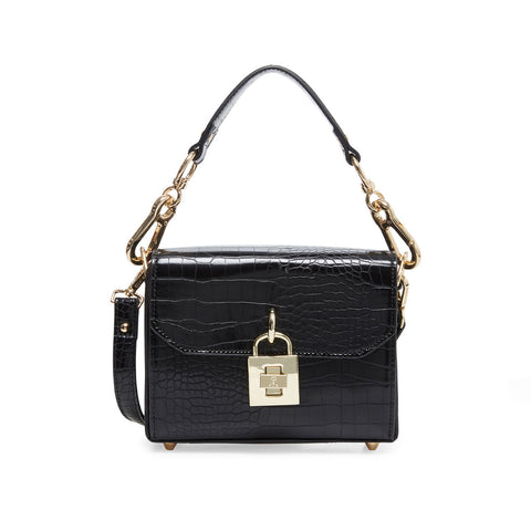 BPURE-C BLACK CROC CROSSBODY
