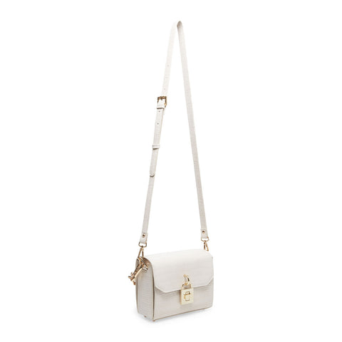 BPURE-C BONE CROCO CROSSBODY
