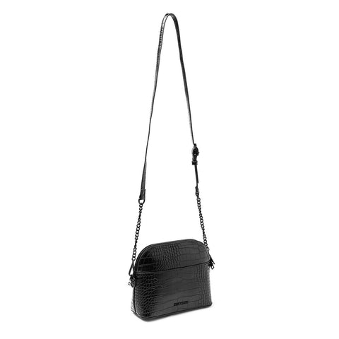 BCHERRIE BLACK CROCO CROSSBODY