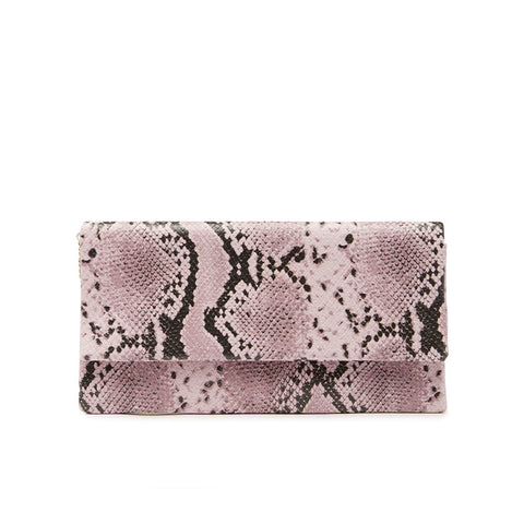BWINONA PURPLE SNAKE CLUTCH