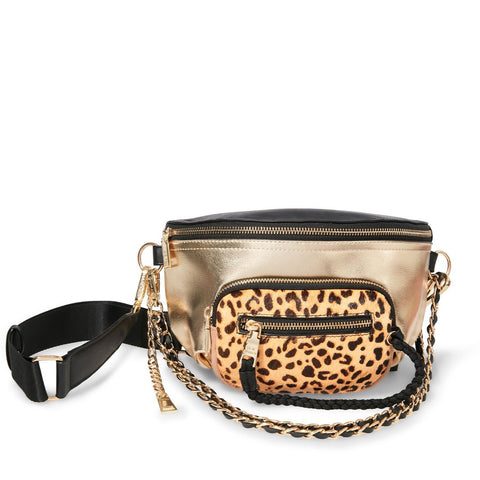BSUMMIT LEOPARD CROSSBODY