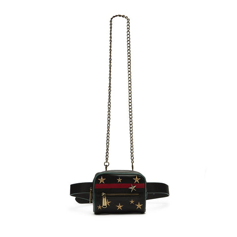 W-BOX BLACK MULTI BELT BAG