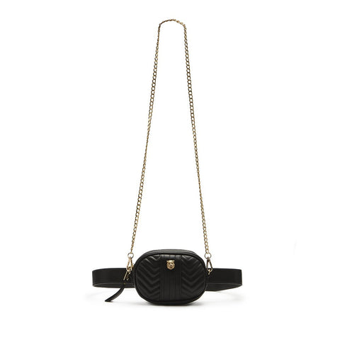 W-LION BLACK BELT BAG