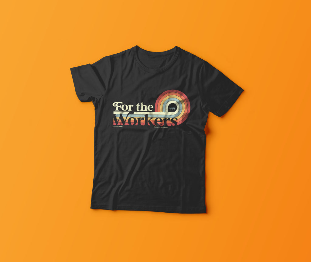 For The Workers Retro T-Shirt (Unisex)