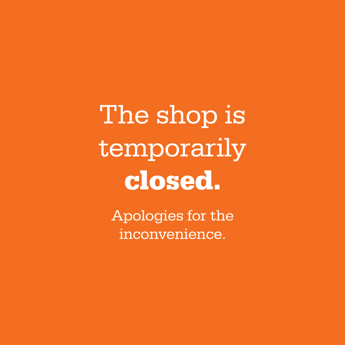 Shop temporarily closed