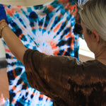 SOLD OUT: LIMITED EDITION Tie-Dyed 'We're For Workers' Tee Second Run
