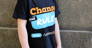 Change the Rules KID'S T BLACK - Limited stock