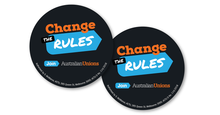 Change the Rules Round Sticker x2 Pack