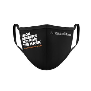 Face Mask: Union Members Donated This Mask