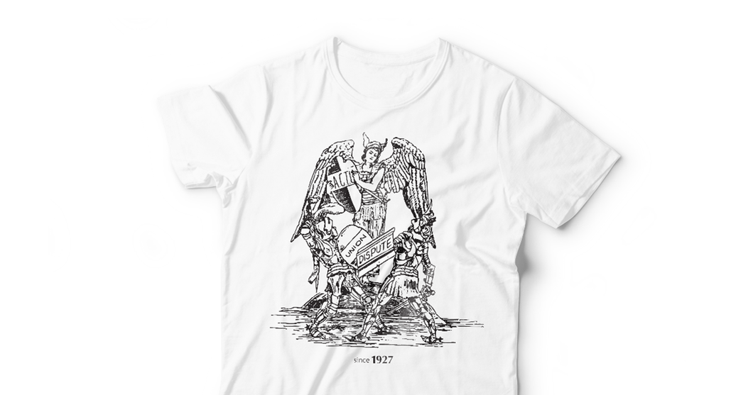 Walter Crane UNISEX T WHITE - Limited Edition