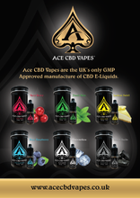 Buy Ace CBD - Vape - Eliquid - CBD Oil Ireland