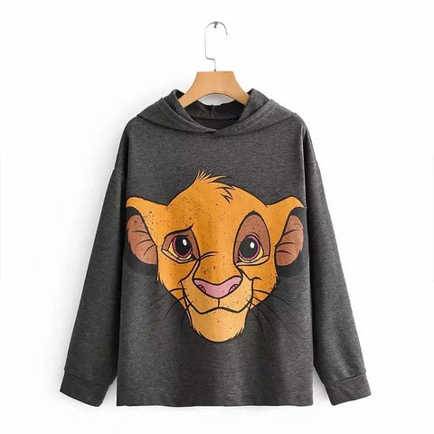 Lion King Print Sweatshirt