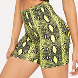 Snakeskin Fit Short