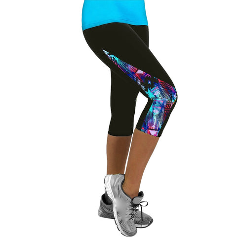 Capri Gym Running Leggings