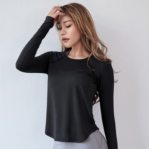 Yoga Gym Running Top