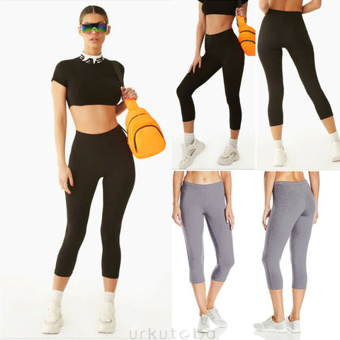 Capri Gym Yoga Leggings