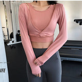 Gym Quick Drying Crop Top