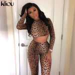 Leopard Fitness Set