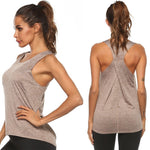 Sports Gym Racer Back Tank Top