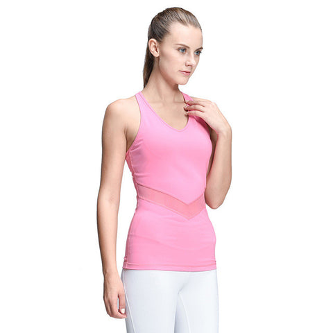 Yoga Vest Shirt Sleeveless