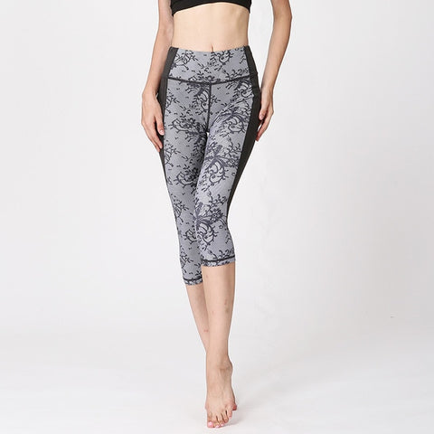 Capri  Jogging Running Leggings