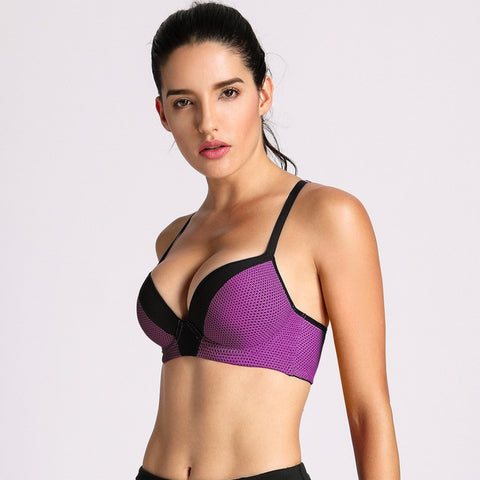 Push Up Underwire Sports Bra