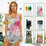 Yoga Printed tank top