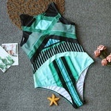 Sporty Push Up Bathing Suit