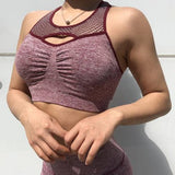 Push Up Gym Fitness Crop Top